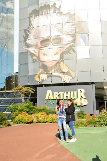 Arthur, atracción en Futuroscope