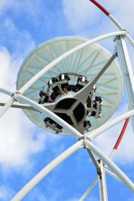 Aerobar, atracción de Futuroscope