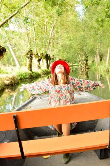Viajandoconmami-Venecia-Verde-Coulon-Marismas-de-Poitevin-Francia-con-niños