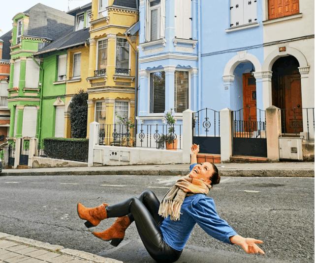 Barrio de Irala, casitas de colores