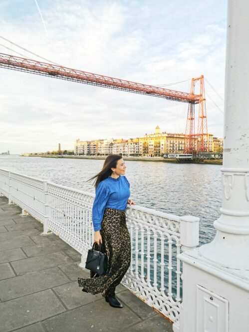 Pasarela del Puente Colgante de Bizkaia