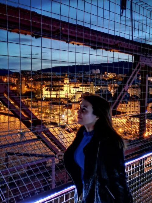 Viajandoconmami-Pasarela-Puente-Colgante-Bizkaia-Bilbao-Portugalete
