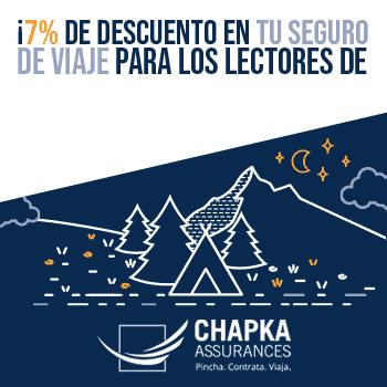 Probablemente viajar seguro sea tu prioridad. Seguros de Viajes Chapka