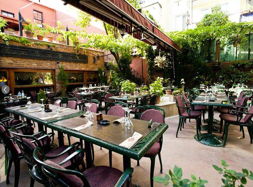 restaurante viktor levi en Estambul