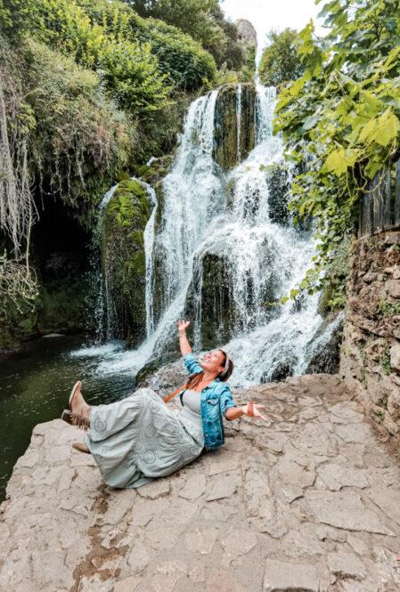 Cascadas de Tobera-Burgos-viajandoconmami