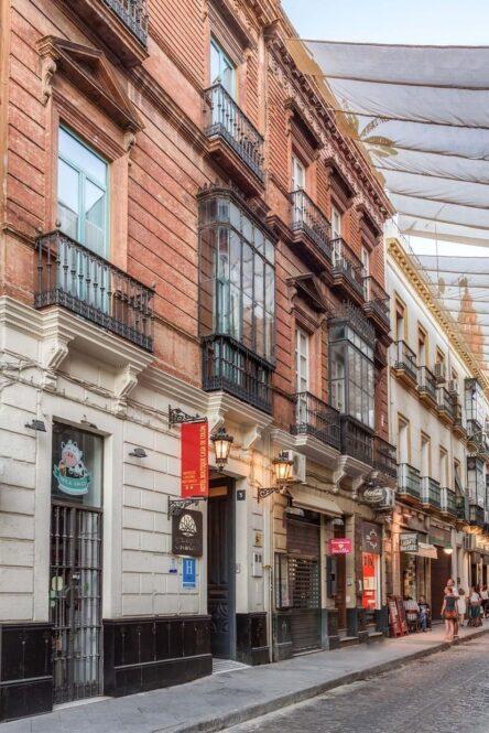 Hotel Boutique Casa de Colón en Sevilla y sus TOP vistas panorámicas Europa